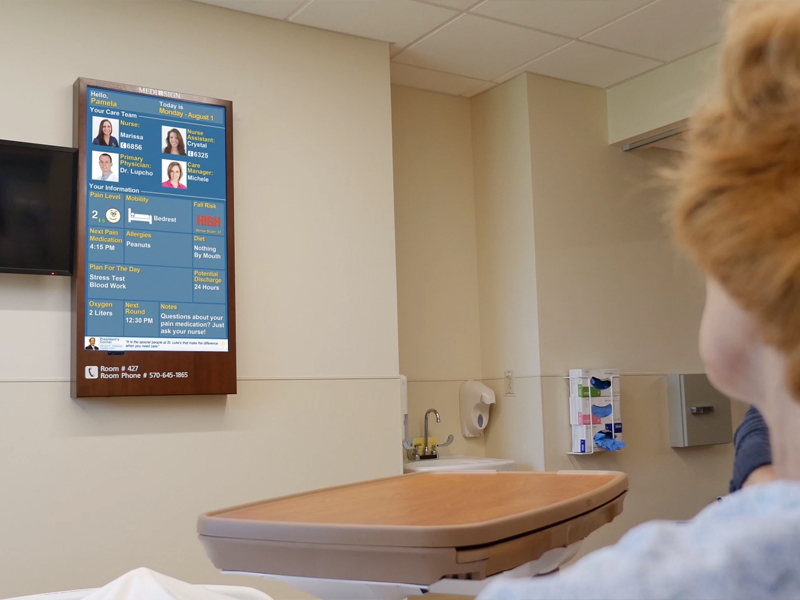 Products Medi Sign Digital Patient Whiteboards