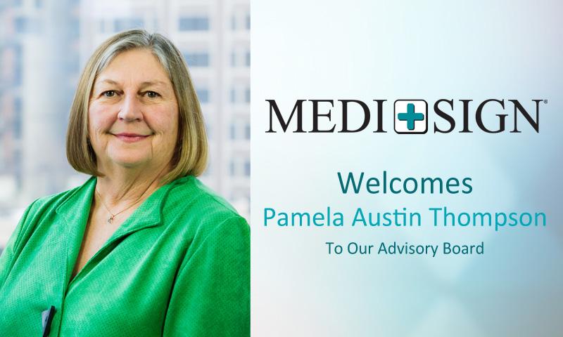 MEDI+SIGN Announces Pamela Austin Thompson as New Advisory Board Member