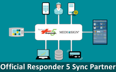 MEDI+SIGN® Designated a ResponderSync® Partner at Rauland-Borg Corporation