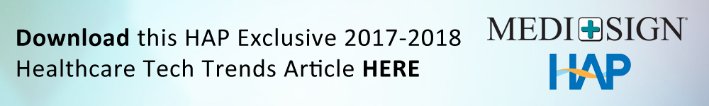 2017-2018 Healthcare Tech Trends Article Download link