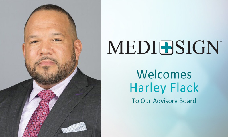 MEDI+SIGN Announces Harley Flack as New Advisory Board Member