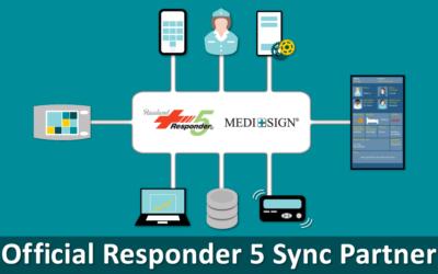 MEDI+SIGN® Designated a ResponderSync® Partner at Rauland-Borg Corporation