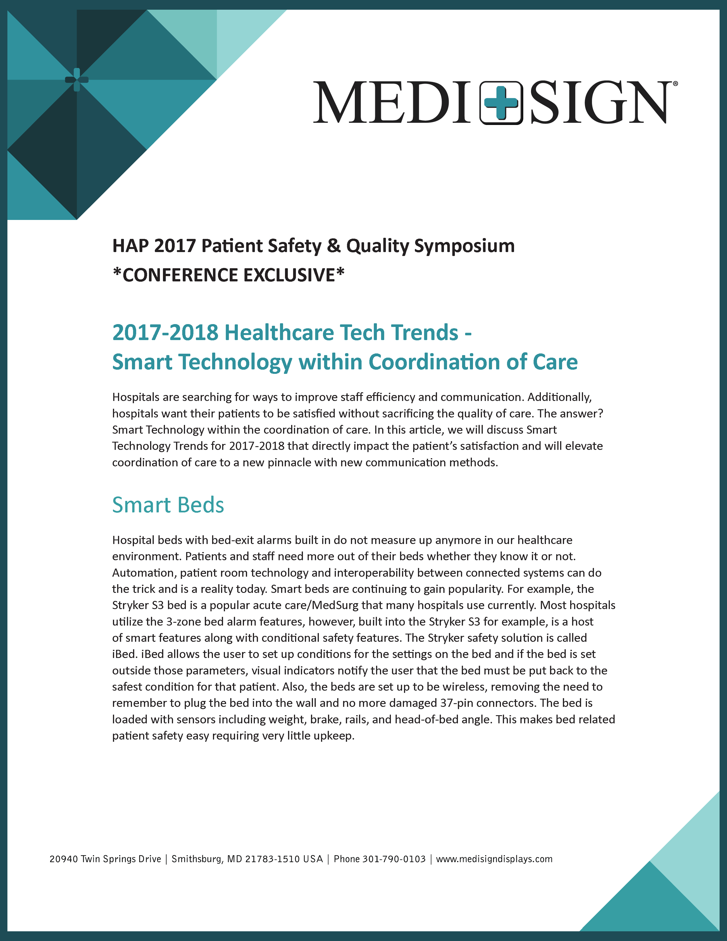 Thumbnail of Patient Safety Whitepaper