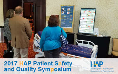 St. Luke's Reveals Research at HAP Quality and Safety Symposium Showing Electronic Whiteboard Results in a 7-Point Change in Patient Experience