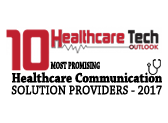 Healthcare Tech Outlook 10 Most Promising Healthcare Communication Solution Providers Logo