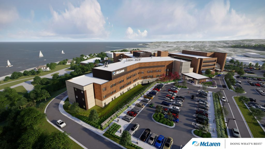McLaren Health Care Northern Michigan Exterior